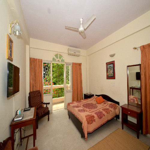 Service apartment in langford road, Bangalore - Bedroom