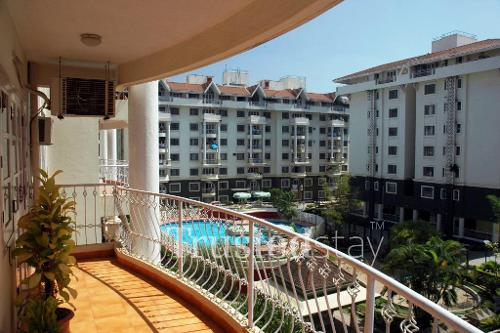 Service apartments in Koramangala, Bangalore - Balcony view