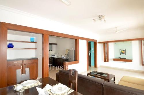 Bangalore Service Apartment in Marathahalli - Master Bedroom
