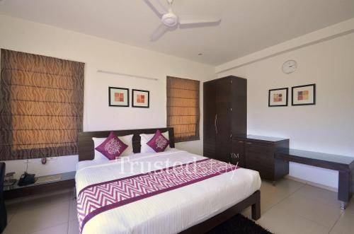 Service apartments in Hitech City | Hyderabad - Master Bedroom