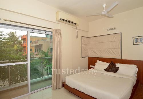 Service Apartments | Kharadi | Pune - Master Bedroom