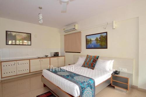 Service Apartments in Marathahalli-Sarjapur ORR, Bangalore | Master Bedroom