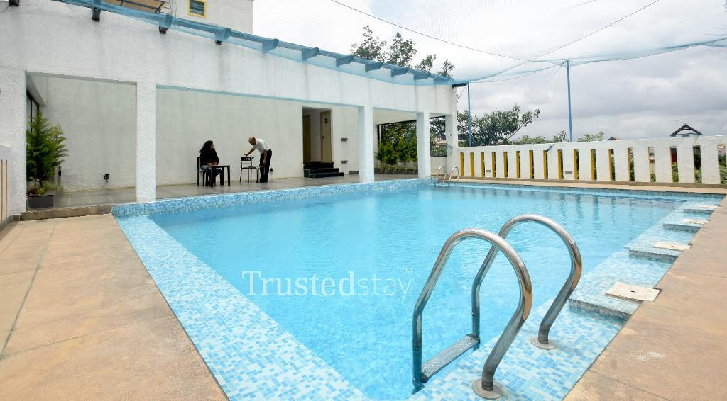 Trustedstay Serviced Apartments in Indiranagar, Bangalore | Bed room