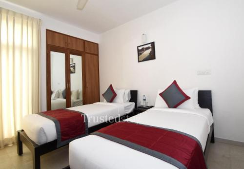 Bed view | Service Apartments in Bangalore