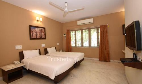 Living Room | Trustedstay Service Apartments in chennai