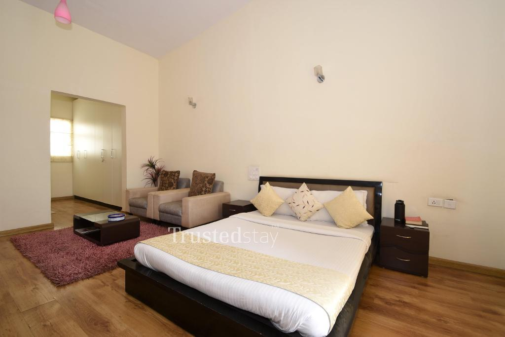 Master bedroom | Service Apartments in Bangalore
