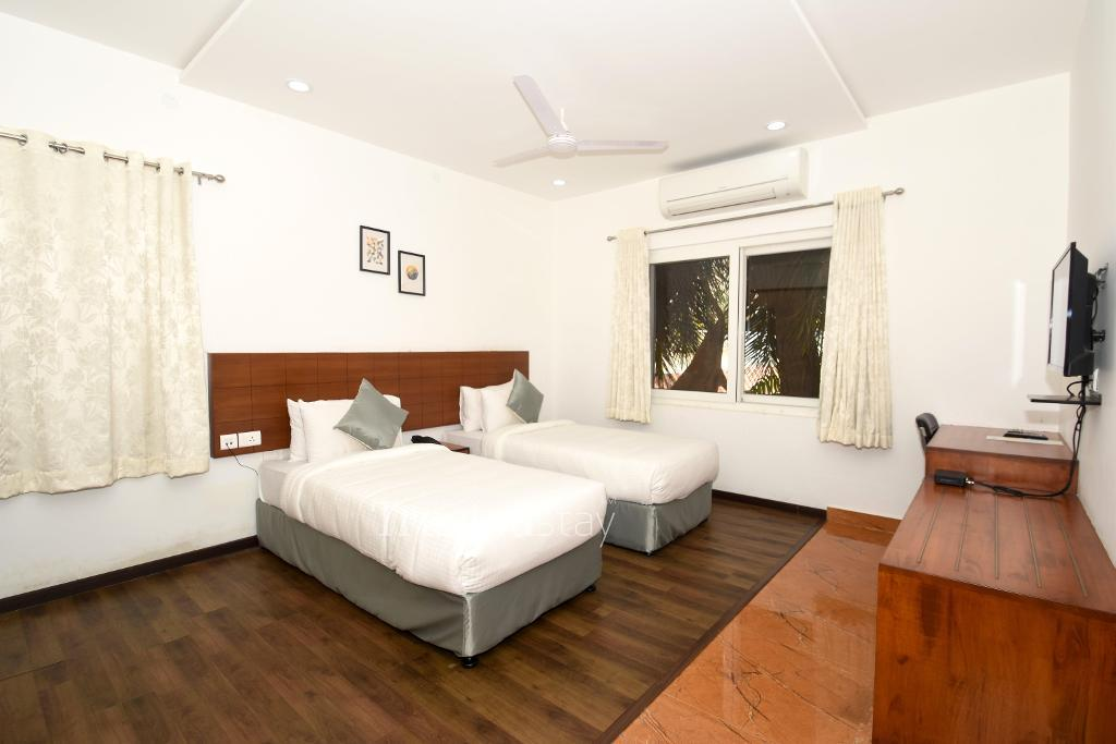 Bedroom | Service Apartments in Banjara Hills