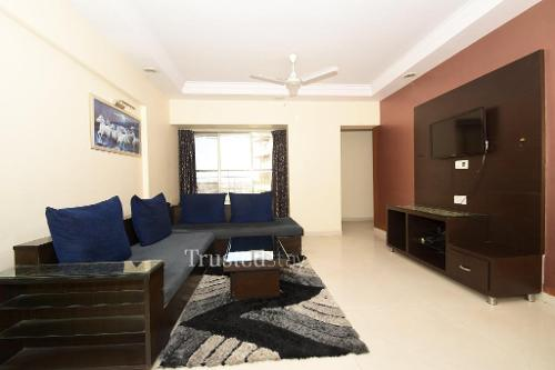 Master Bed room | Service Apartments in Powai, Mumbai