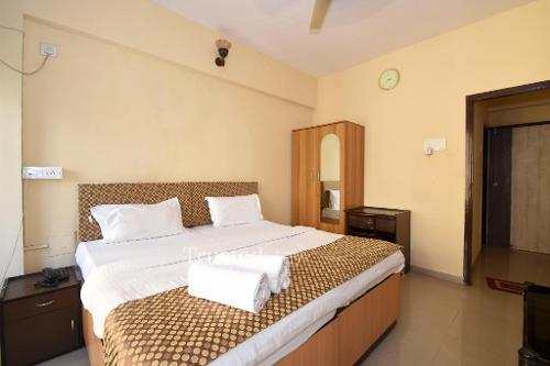 Master Bedroom | Service Apartments in Kopar Khairane, Navi Mumbai