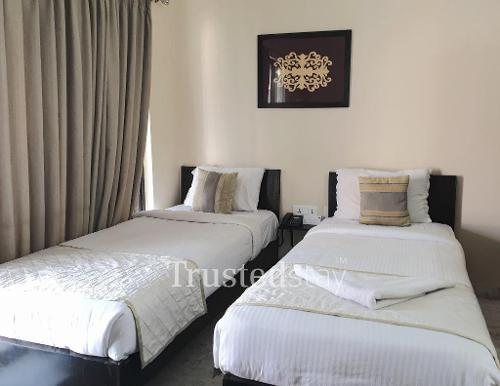 Service Apartment in Salt Lake City, Kolkata | Master Bedroom