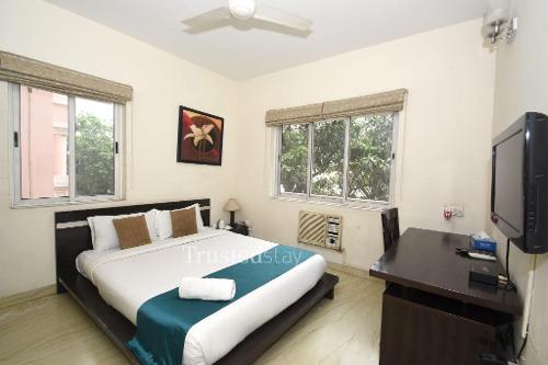 Bedroom | luxury service apartments in Rowden Street, Kolkata
