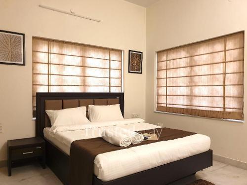 Master Bedroom | Service Apartments in Kolkata