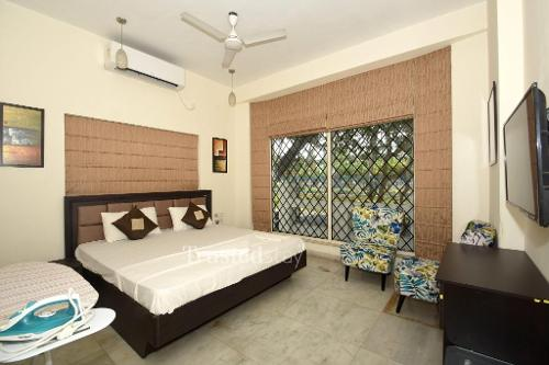 Master Bedroom | Service Apartments in Kolkata