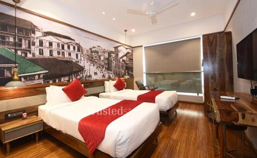 Bedroom |  Furnished Service Apartment in Mumbai