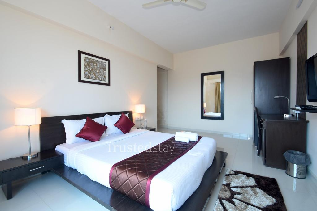 Master Bedroom | Service Apartments in Malad West