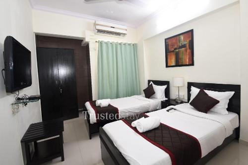 Master Bed room | Service Apartments in Thane West, Mumbai