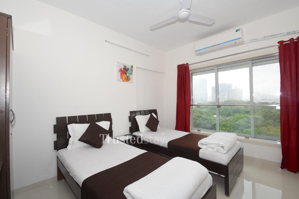 Service Apartments in Goregaon East, Mumbai | Living room