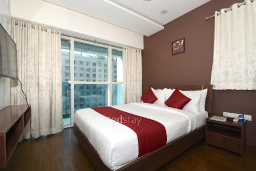 Book Serviced Apartments in Hyderabad | Bed Room