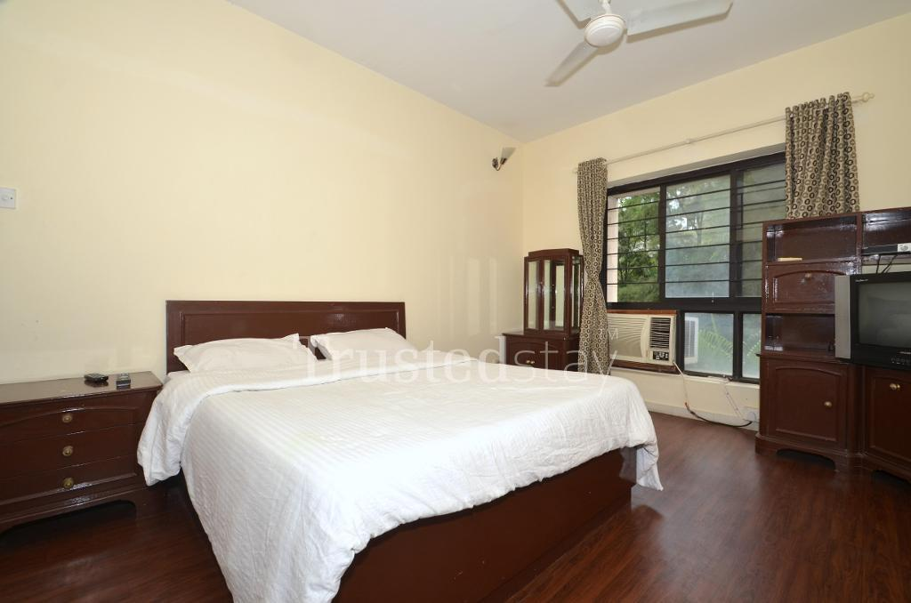 Qualified Service Apartments | Koregaon Park | Pune - Bedroom
