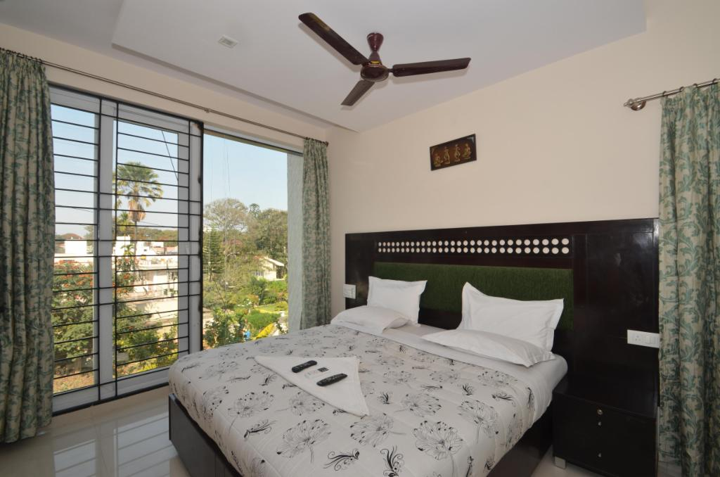Service apartments in Koramangala, Bangalore - Master Bedroom