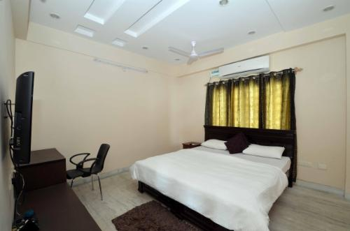 Service Apartments in Gachibowli , Hyderabad, Bedroom
